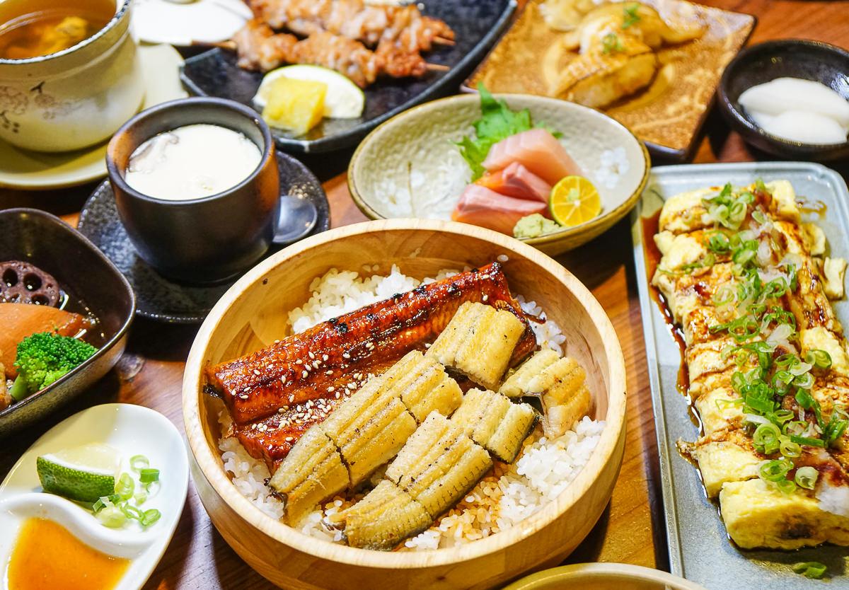 [高雄新崛江美食]僕燒鰻-老饕必吃!炭火現烤鰻魚丼~鰻魚三吃最過癮!聚餐口碑推薦餐廳