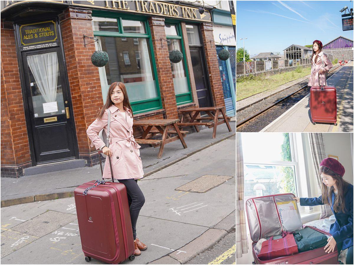 [行李箱推薦]DELSEY 行李箱GRENELLE系列-創新一九分掀蓋式設計~輕量超好拉大行李箱!開合取物更方便