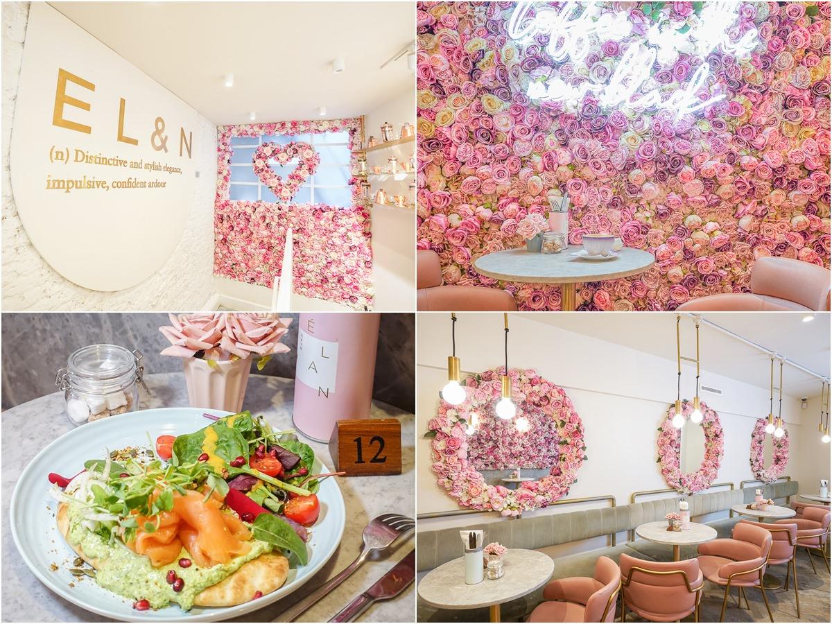[英國倫敦美食]Elan Cafe-最粉紅網美花牆IG打卡點~超人氣倫敦連鎖咖啡館