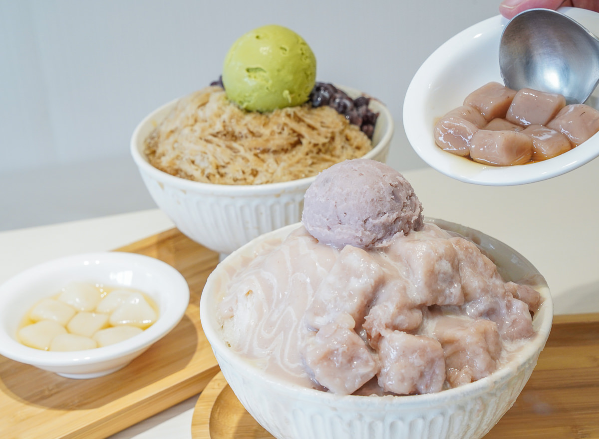 [高雄冰店推薦]呷丸味(文山店)-芋頭控最愛!芋頭芋泥芋圓滿滿的極致芋頭冰