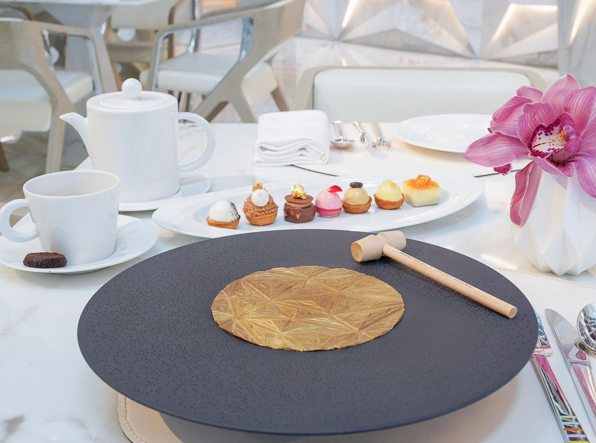 [澳門美食]摩珀斯Morpheus酒店-甜點控必朝聖Pierre Hermé下午茶