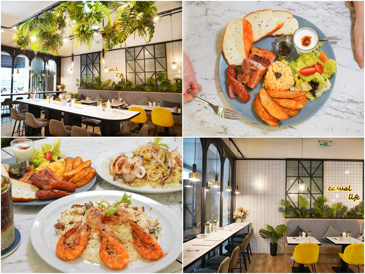 [高雄早午餐]夏佐廚房-網美風迷人早午餐空間~高雄聚餐約會餐廳推薦