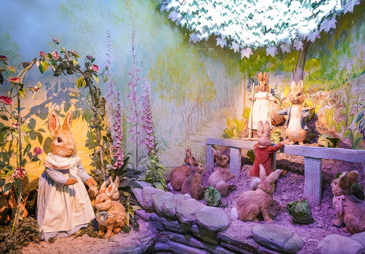 [英國景點]英國湖區彼得兔博物館-近距離接觸彼得兔!超萌彼得兔紀念品太好買~