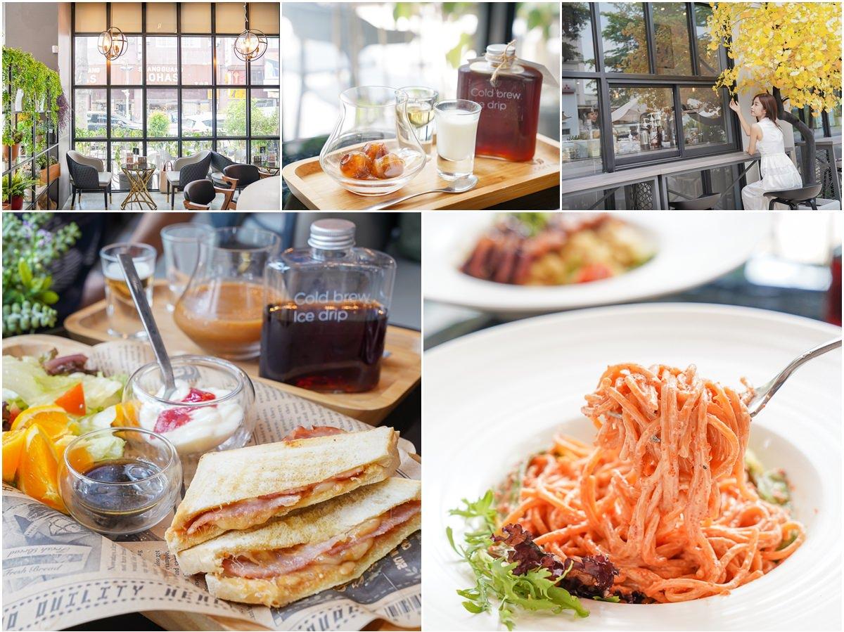 [高雄鳳山美食]COFEIN CAFE-文山特區超好拍質感咖啡店!輕食義大利麵平價又好吃