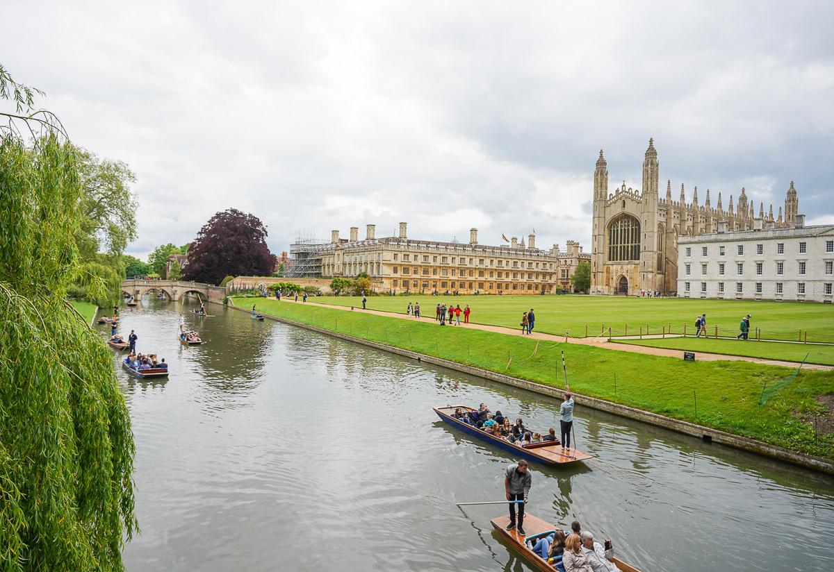 [英國景點]劍橋大學半日遊-搭船尋找徐志摩的詩集夢境(含交通、劍橋景點與門票資訊)