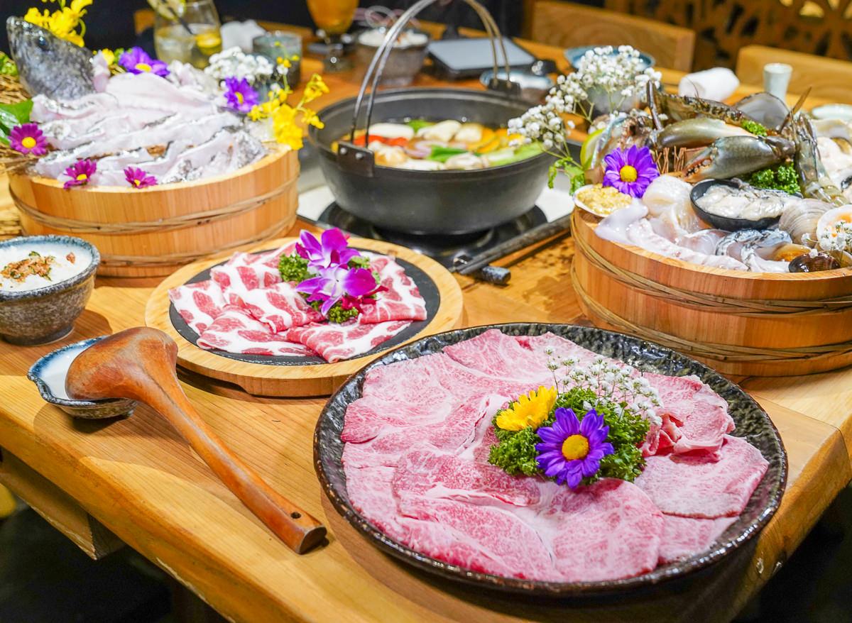 [台中火鍋推薦]暮藏和牛鍋物-老饕帶路低調美食~頂級和牛活體海鮮鍋物! 生意好到平日也爆滿