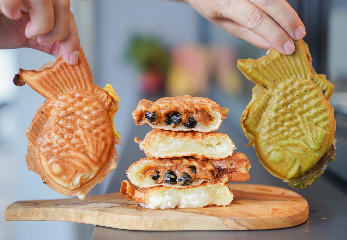 [高雄左營美食]壹輪鯛燒-爆漿珍珠麻糬創意鯛魚燒~高C/P值日系鯛魚燒專賣