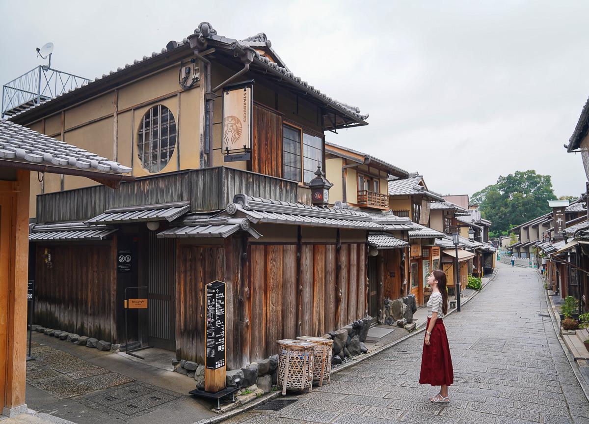 [京都]清水寺旁最復古榻榻米星巴克~星巴克京都二寧坂ヤサカ茶屋店