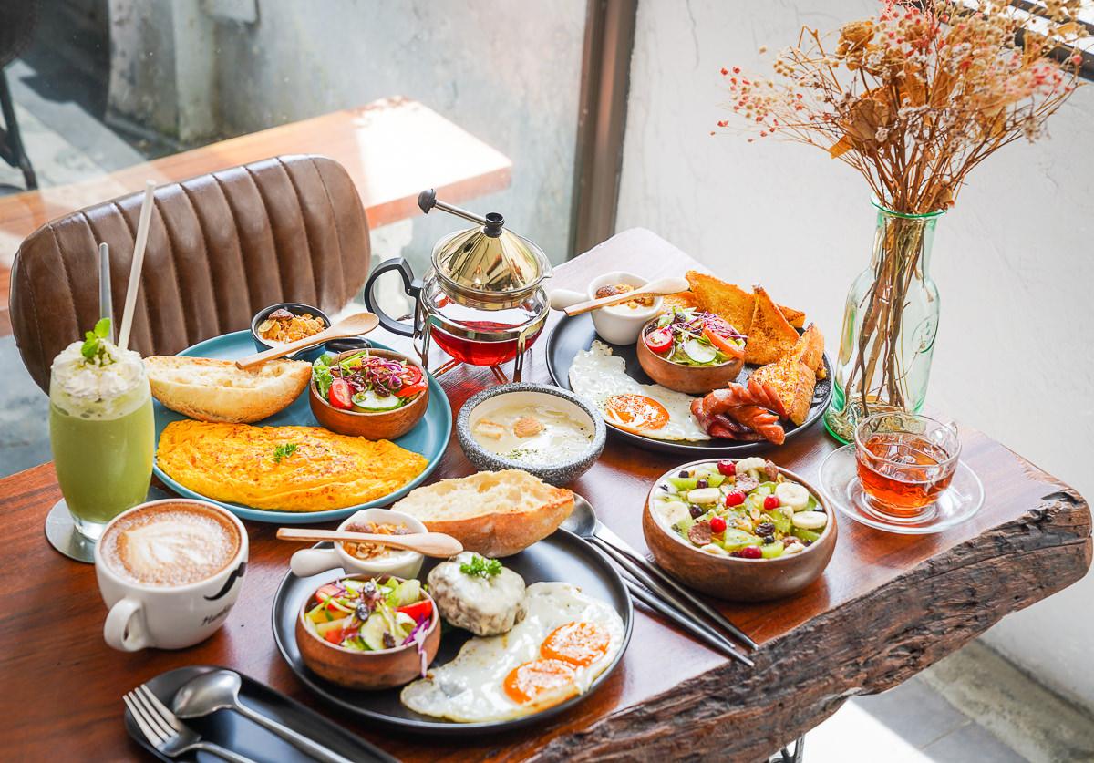 [高雄]Humble beginnings café – Kaohsiung 亨寶咖啡-復古文青老屋~極致到位美式早午餐!必吃漢堡排和歐姆蛋捲