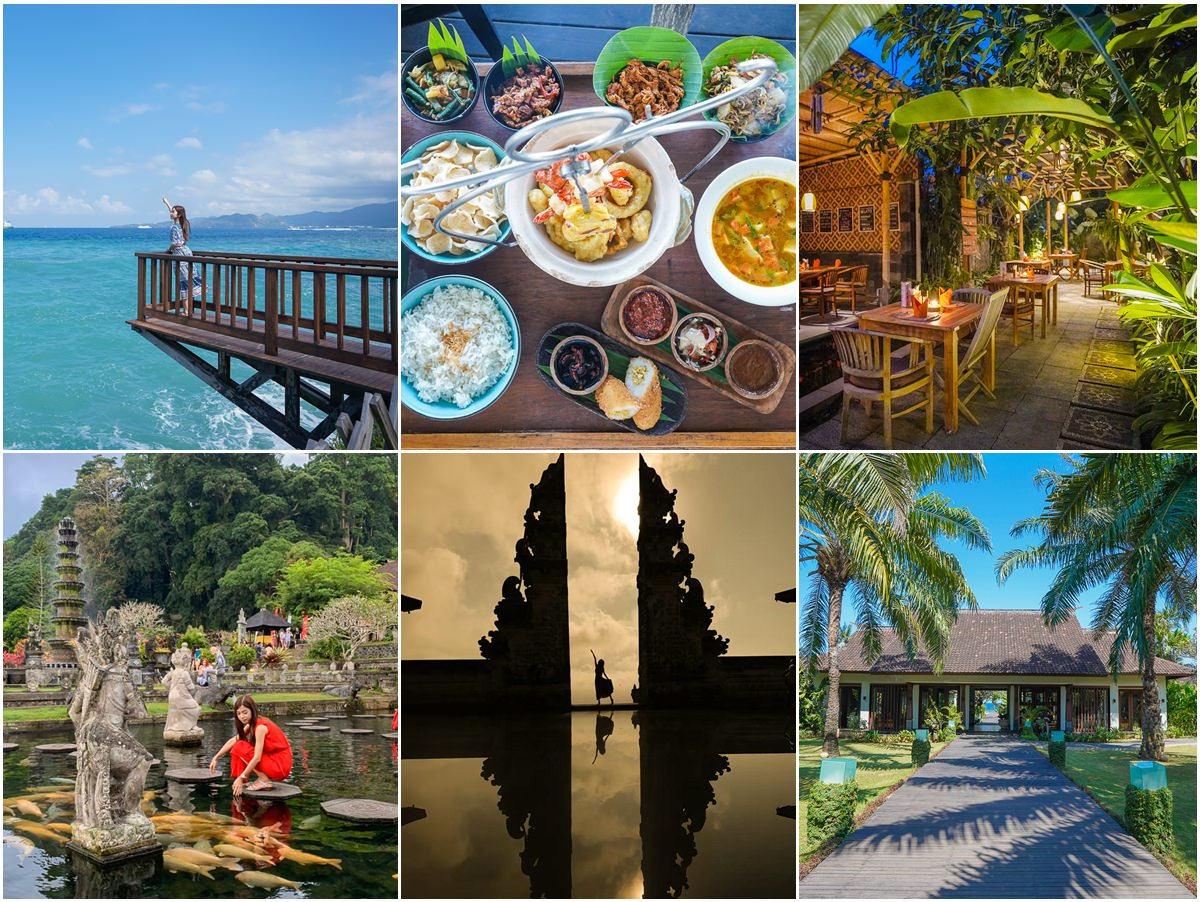 網美景點美食拍不完的東巴里島行程~天堂之門、水宮、海景五星渡假村Alila Manggis Bali、豪華海景皇家風味午餐