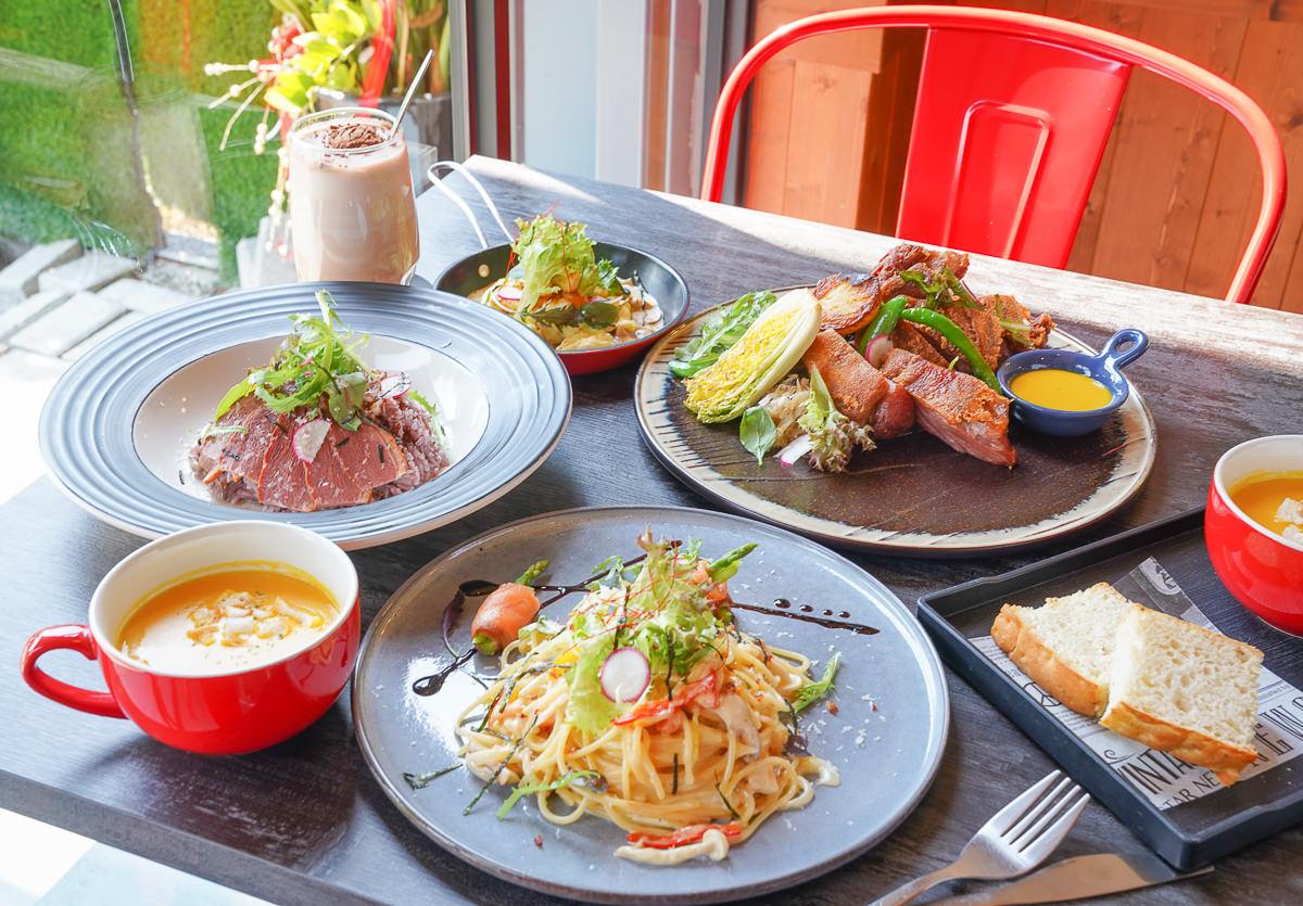 [鳳山美食推薦]Lé Eat義法倉廚-美味平價氣氛又好的義法餐廳x不預約吃不到的脆皮德國豬腳