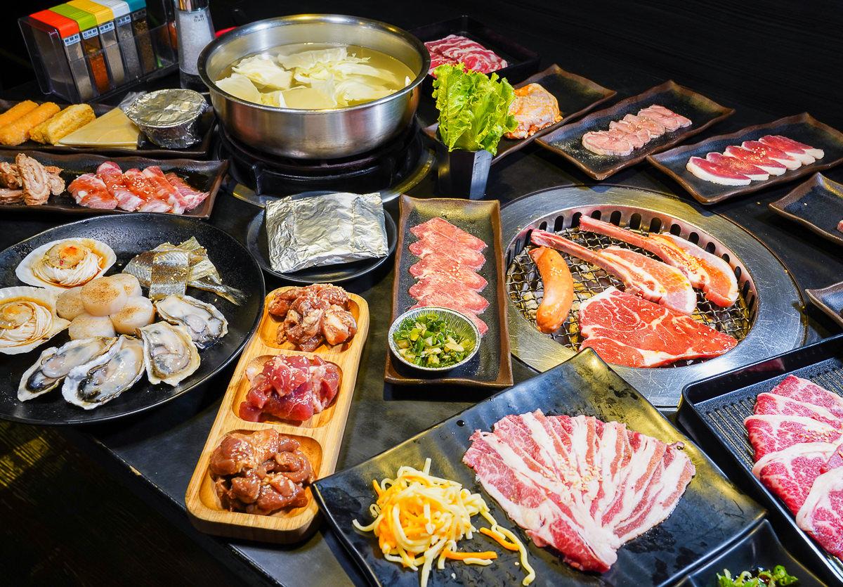 [高雄吃到飽推薦]老爺燒肉-肉類海鮮生蠔~燒烤/火鍋爽爽吃到飽!超過100多種食材任你挑