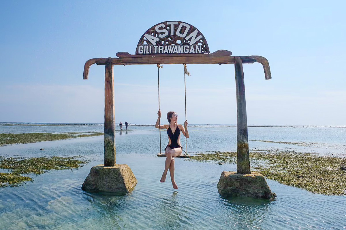朝聖峇里島秘境離島~吉利群島!不想離開的夢幻行程:海上鞦韆x蔚藍海灣跳島潛水找海龜