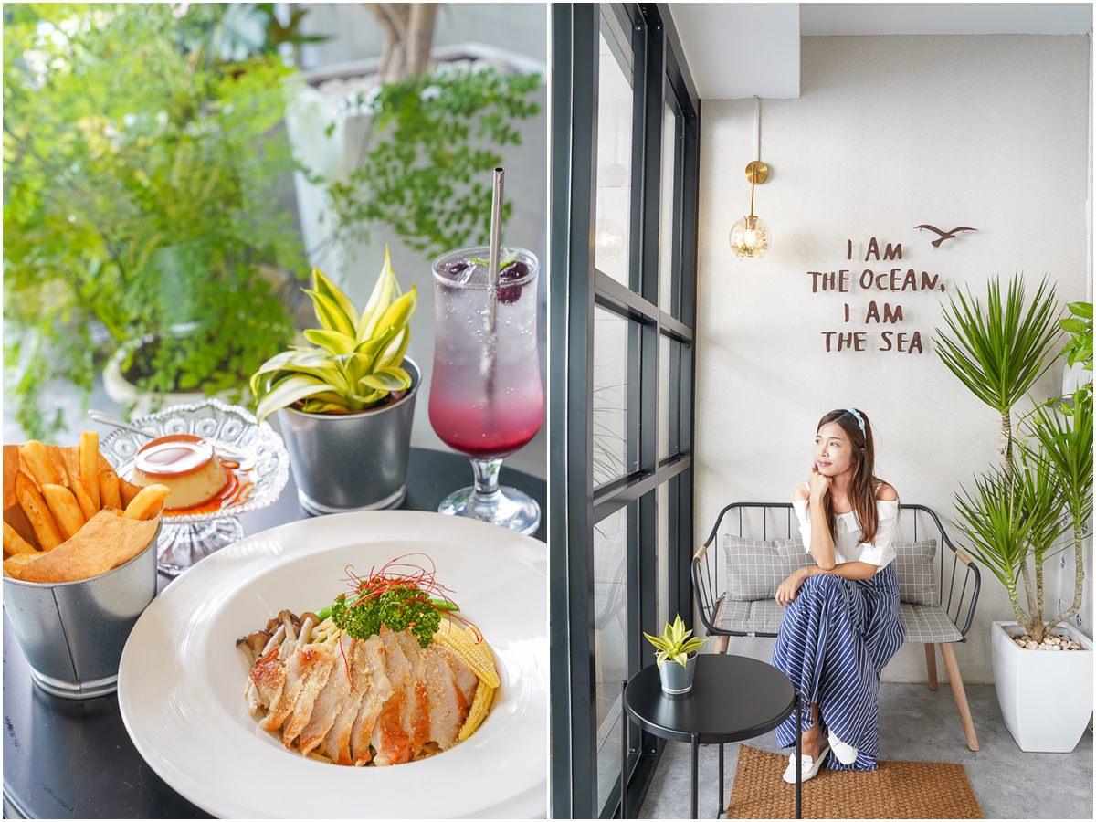 [高雄新崛江美食]沐樢mumu-ig爆紅!小清新森林系餐廳~用餐氣氛超文青