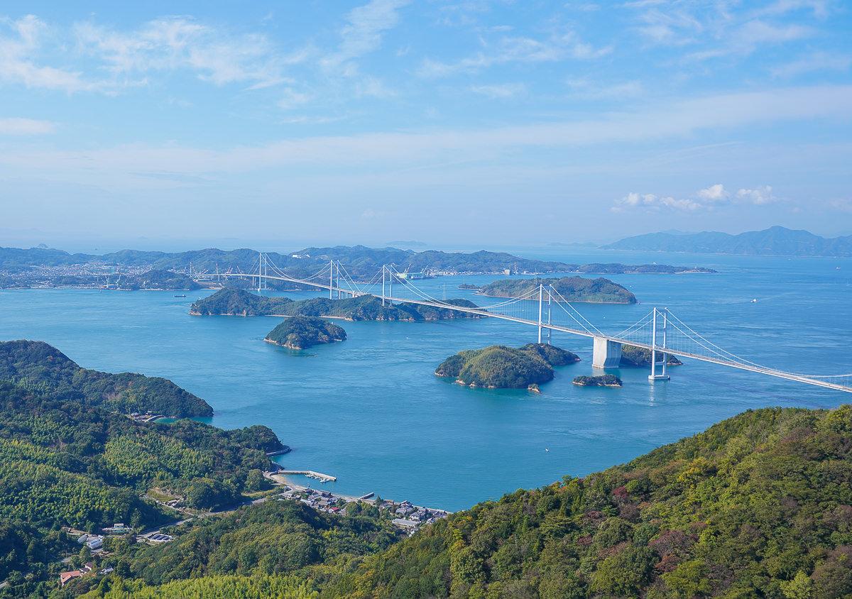 [愛媛景點]來島海峽大橋-最美海景自行車道~愛媛島波海道自行車半日遊