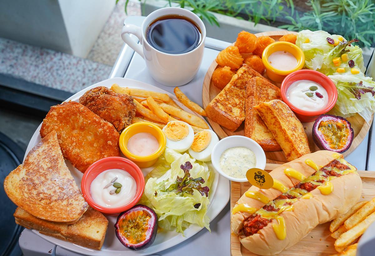 [高雄三民美食]咔好早午餐 Kaho Brunch-陽明學區溫馨早午餐~不傷荷包的大份量飽足感