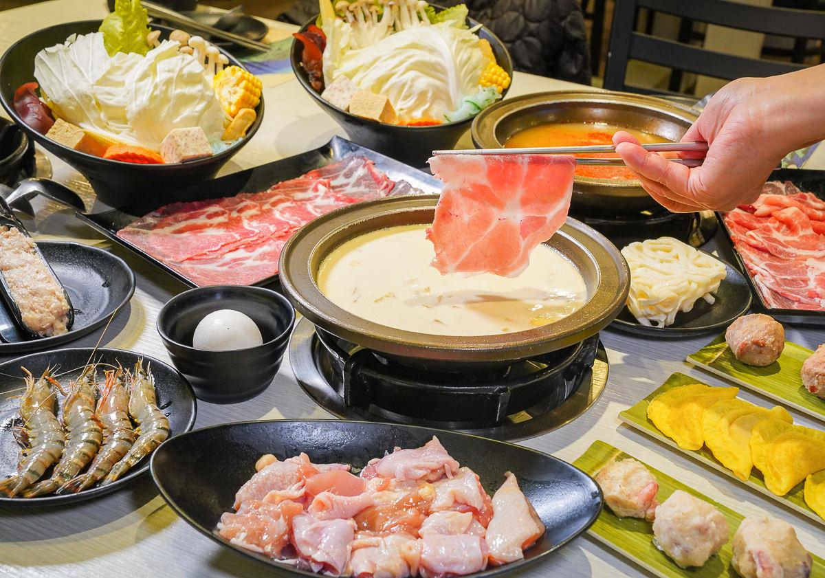 [高雄楠梓美食]風見雞日本雞湯石頭火鍋-日式雞白湯x石頭火鍋新吃法~188元獨享個人鍋還有飲料冰淇淋吃到飽