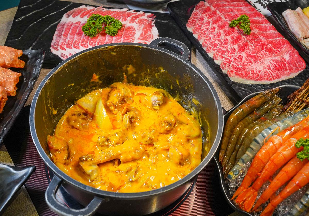 [高雄鳳山美食]聞雞起爐文衡店-一鍋兩吃正宗港式麻辣火鍋~不能錯過超濃牽絲起司雞煲