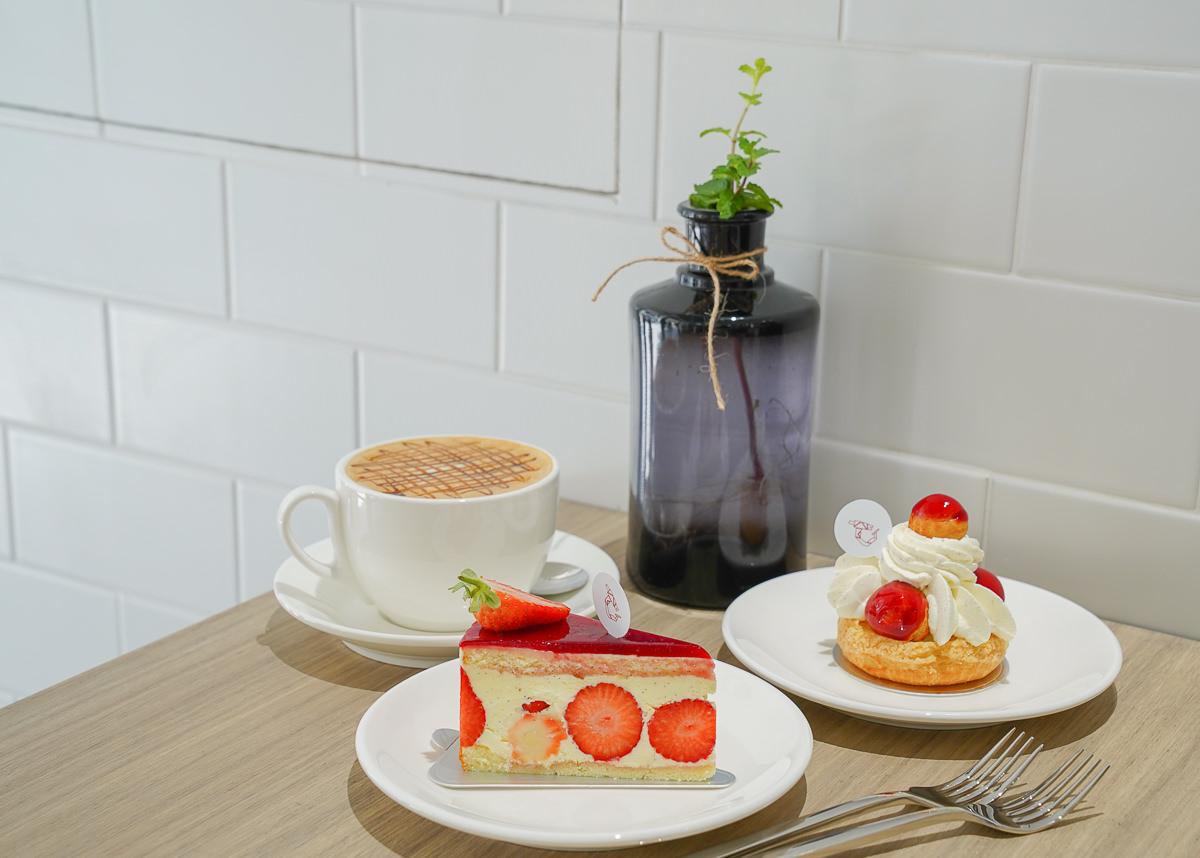 [高雄]溫柔實驗室-最溫柔的純白午後時光!鹽埕區話題法式甜點店