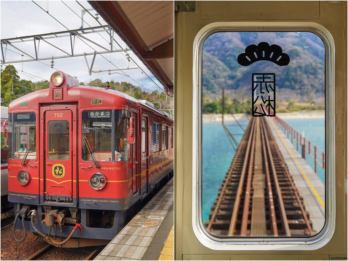 [京都景點]丹後鐵路赤松號-和千尋無臉男一起去找錢婆婆!必朝聖《神隱少女》海上列車場景