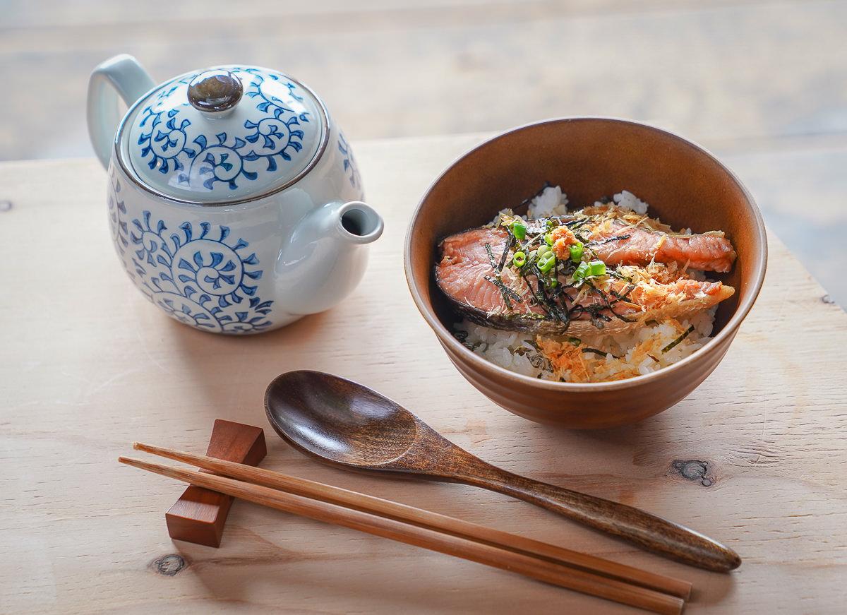 [北海道道東]中標津鮭魚茶漬け體驗-顛覆想像豪華版鮭魚茶泡飯!うま味最高~