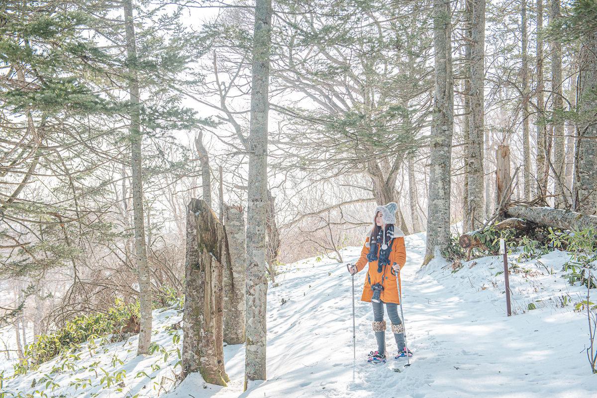 [北海道道東]北海道雪中健行-標津町ポー川史跡自然公園~不滑雪的有趣雪地體驗!