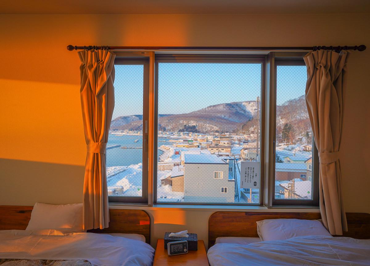 [北海道道東]羅臼の宿 まるみ-根室海峽旁最佳景觀飯店!絕美日出x超豐盛海鮮一泊二食