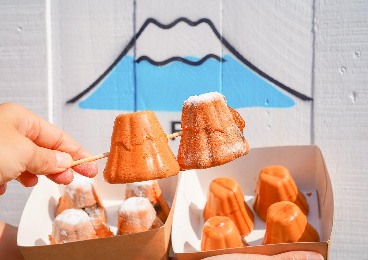 [高雄雞蛋糕推薦]Mr. FUJI 富士先生雞蛋糕-假日限定~超療癒富士山造型雞蛋糕!爆紅排隊駁二美食