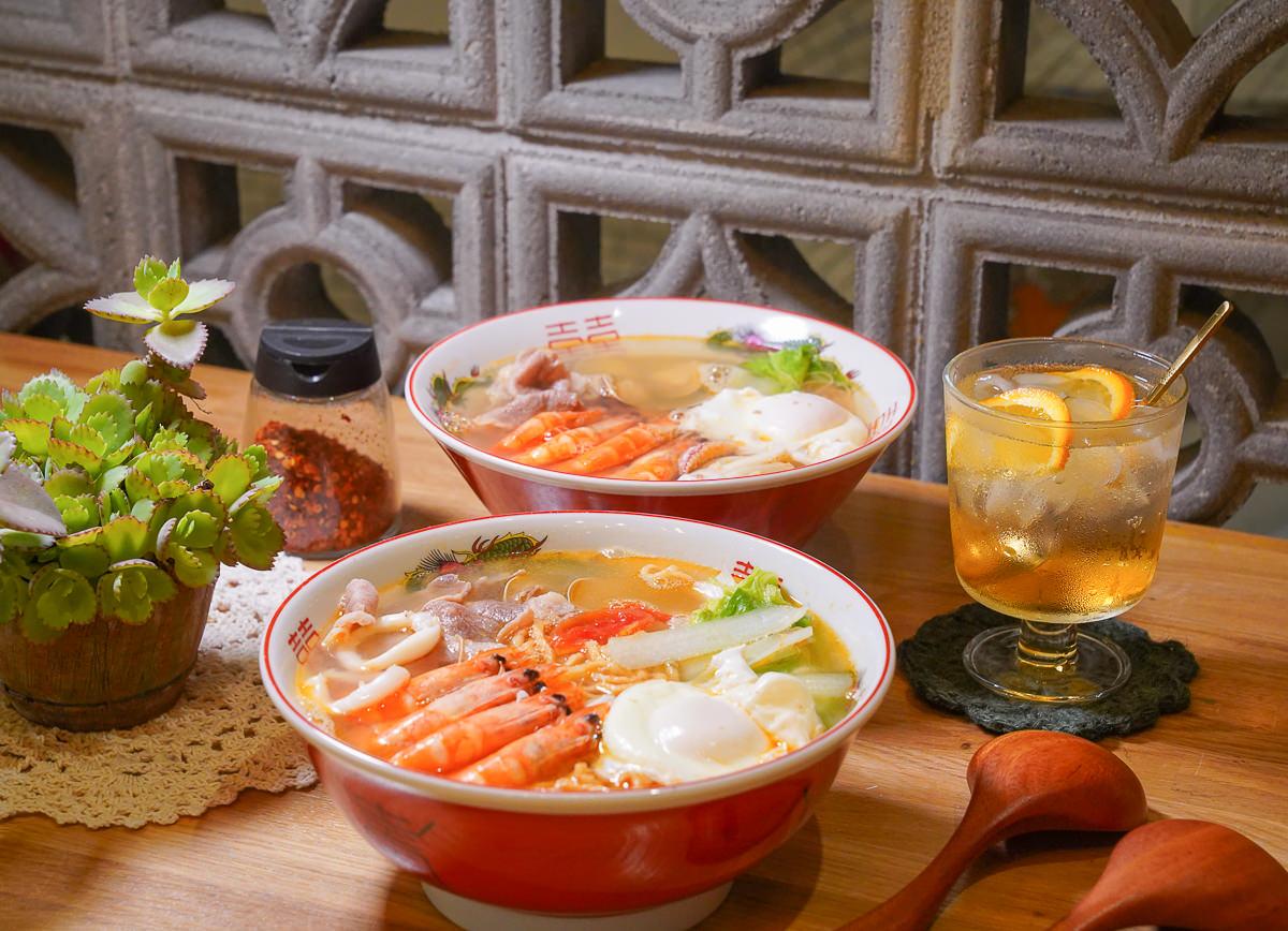 [高雄鼓山美食]R512x好好吃頓飯-來碗老宅鍋燒麵~復古風內惟社區文青小店