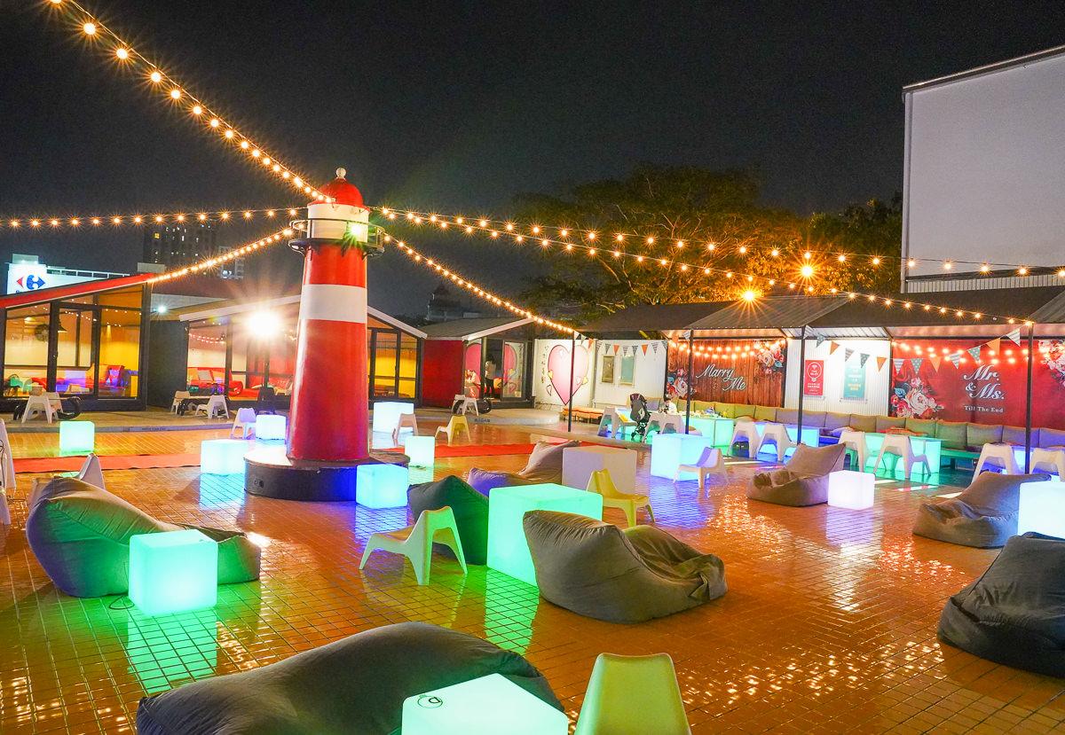[高雄景觀餐廳]海洋微光Ocean Light-星空庭園x燈塔造景!網美超愛ig打卡點~高雄求婚慶生熱門指定餐廳