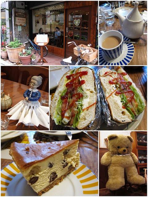 [台北中山]再訪英國小茶館-Convent Garden柯芬園咖啡館
