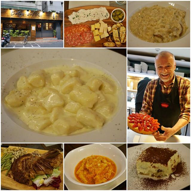 [台北]道地義式小館! 麵疙瘩和燉飯都好吃-Botega del Vin Taipei