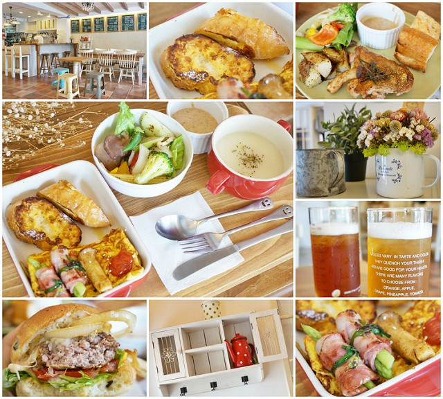 [台南]鄉村風童趣美味早午餐-小花花咖啡 SF CAFE Brunch 。手做木工。韓國童裝.雜貨