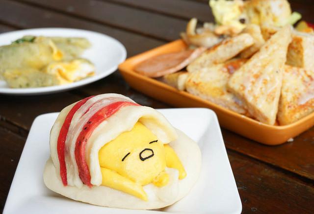 [高雄]萌度破表蛋黃哥饅頭!健康美味早午餐-我的饅頭是吐司