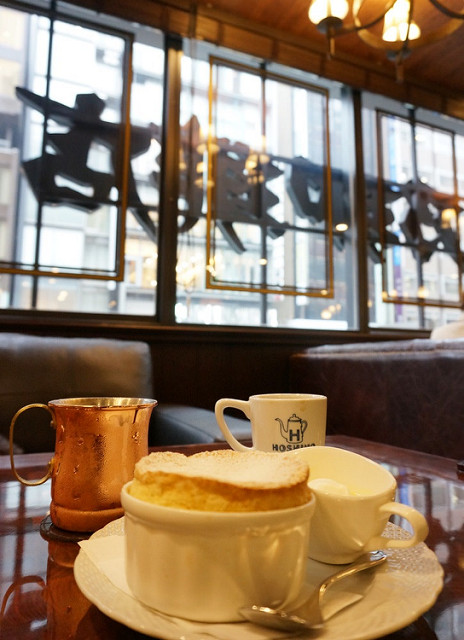 [東京]平價美味舒芙蕾厚鬆餅-星乃珈琲店(銀座八丁目店)