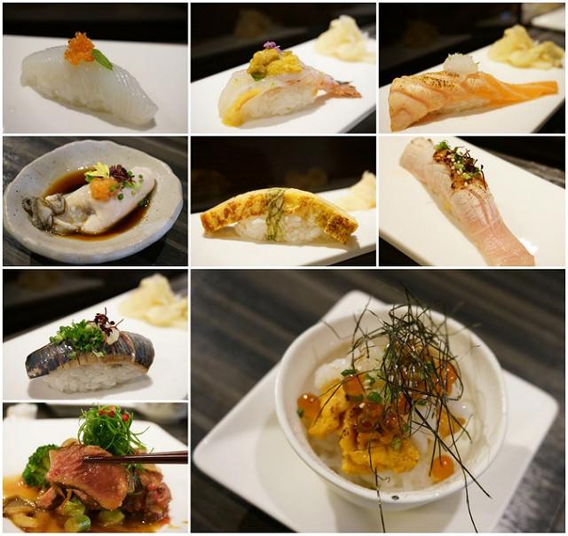 [台南]精緻創意無菜單日式料理-八寸和風細工壽司