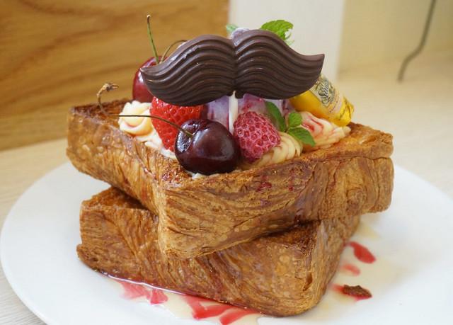 [高雄]好吃華麗蜜糖吐司-Porco Café 豬仔小森林.小花卉