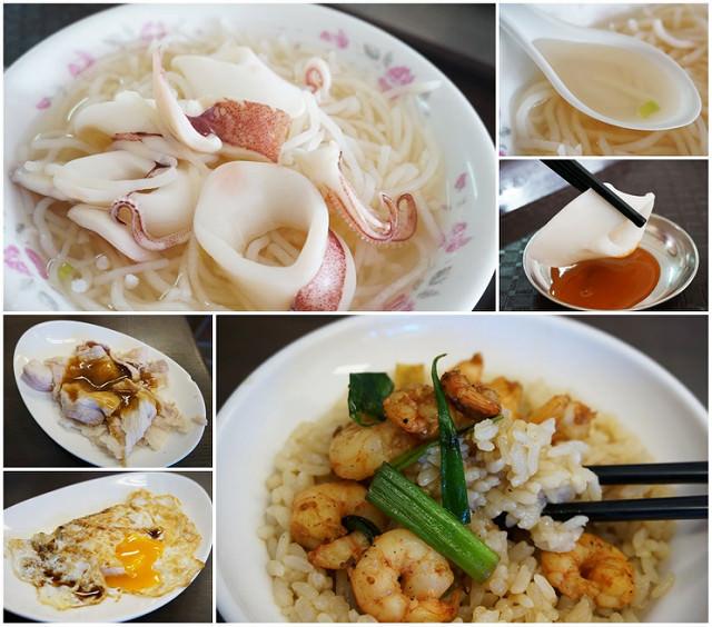 [台南]吮味難忘小吃二連發-矮仔成蝦仁飯X邱家小卷米粉