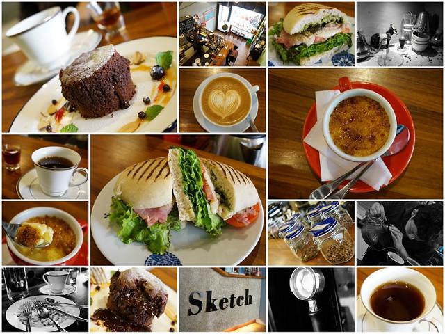 [高雄]平日限定美味早午餐X隱藏版甜點-草圖自家烘焙咖啡館
