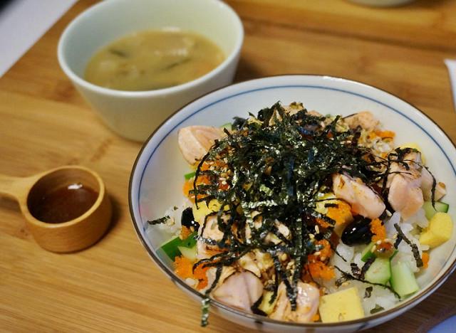 [台南]日法創意X一早就有散壽司的早午餐-兜齊私廚