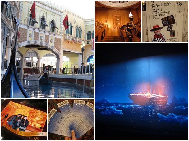[澳門]威尼斯人套裝護照使用-貢多拉運河及鐵達尼展