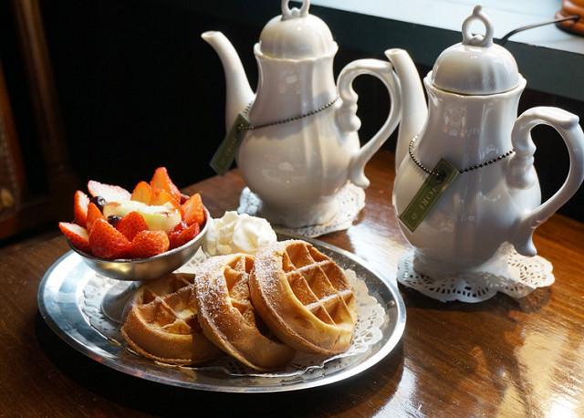 [台南]府城遇見西洋古董洋菓子店-IORI TEA HOUSE