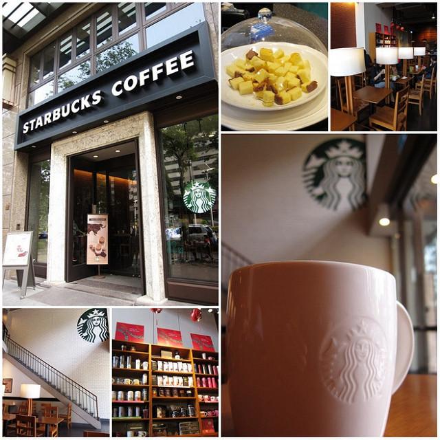[高雄]挑高優雅星巴克-Starbucks四維民權門市