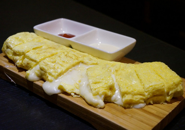 [高雄]爆漿起司蛋捲兒-哈摩尼韓式食堂