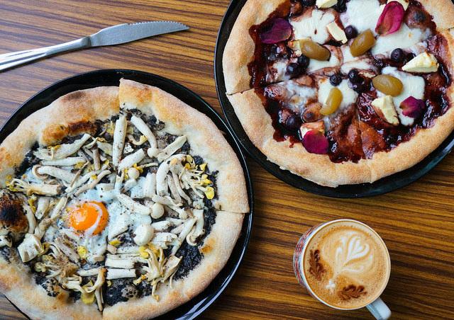 [高雄]手感溫度pizza餅皮飄香!好吃義式蔬食pizza-BetterMan 蔬食披薩專賣
