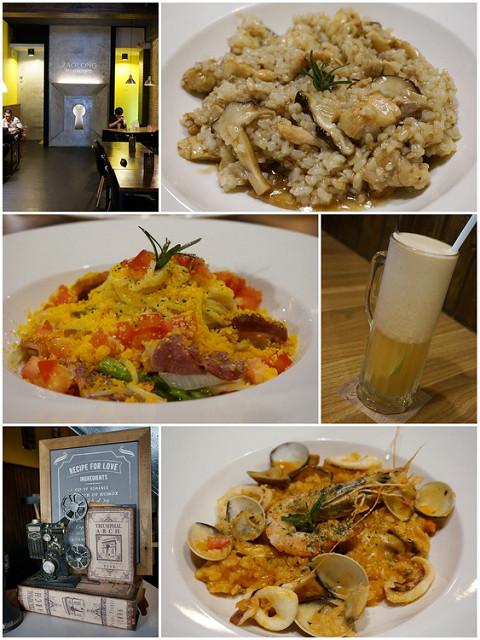 [高雄]岡山聚餐好所在X平價美味燉飯義麵-走廊倉廚餐飲Zaolong