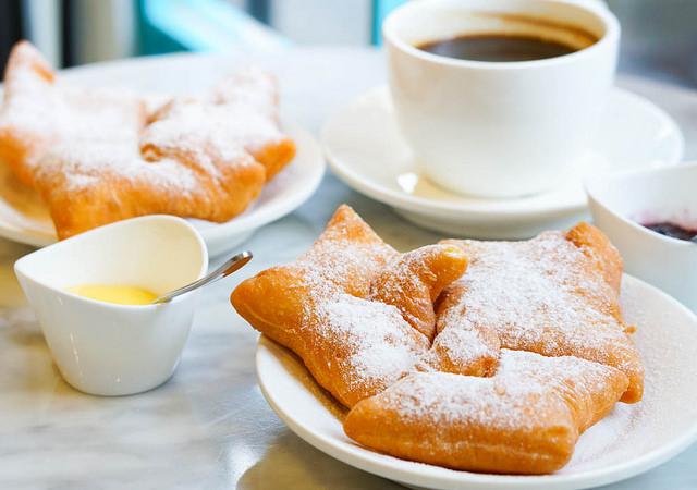 [高雄]銅板價下午茶!不甜膩的紐澳良法式甜甜圈-Beignets