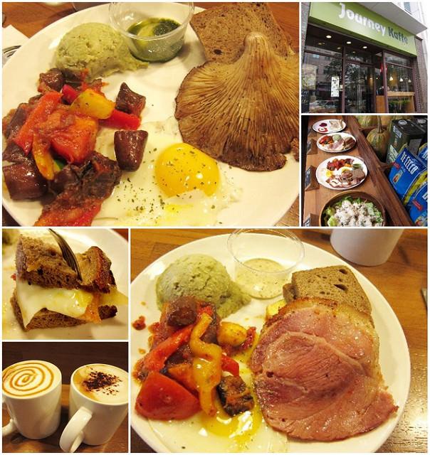 [台北內湖]悠閒吃豐盛早餐-二訪Journey Kaffe覺旅咖啡