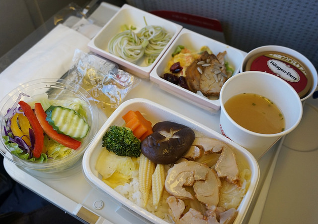 [東京]超美味質感飛機餐-日航(JAL)高雄-東京成田航線