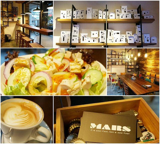[高雄]木質閒適藝文咖啡店-睦工場MARS